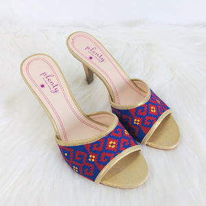 Plenty by Tracy Reese Tapestry Heel Sandals